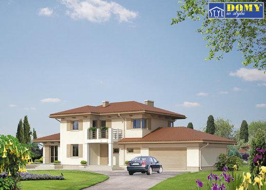 projekty domów do 140m2